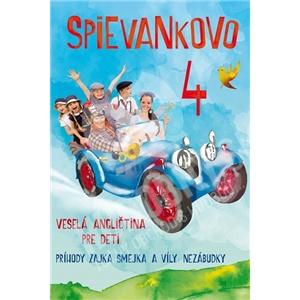 podhradská, čanaky - Spievankovo 4 - Veselá angličtina pre deti (2 DVD) od 11,49 €