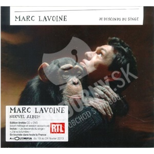 Marc Lavoine - Je Descends Du Singe (Limited Edition) od 29,87 €