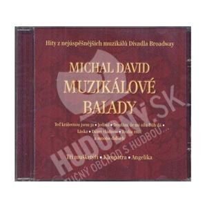 Michal David - Muzikálové balady od 7,21 €