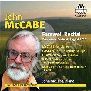 John McCabe - Farewell Recital od 21,15 €