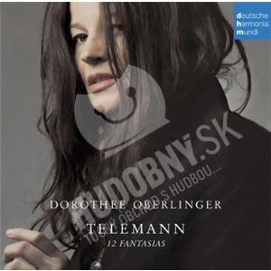 Dorothee Oberlinger - Telemann - 12 Fantasias od 13,35 €