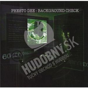 Phesto - Background Check od 26,94 €