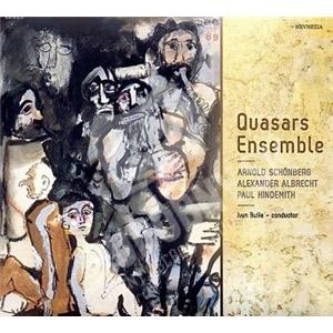 Quasars Ensemble - Schoenberg, Hindemith, Albrecht od 10,87 €