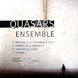 Quasars Ensemble - Debussy, Poulenc, Mahler, Albrecht od 10,28 €