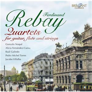 Gonzalo Noqué - Rebay - Quartets For Guitar, Flute & Strings od 7,64 €
