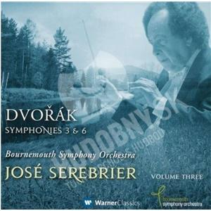 Jose Serebrier, Bournemouth Symphony Orchestra - Dvořák - Symphonies 3 & 6 od 12,86 €