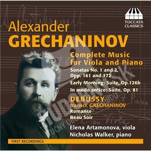 Elena Artamonova, Nicholas Walker - Alexander Grechaninov - Complete Music for Viola and Piano od 21,15 €