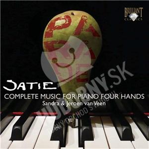 Sandra & Jeroen Van Veen - Satie - Complete music for piano four hands od 7,51 €