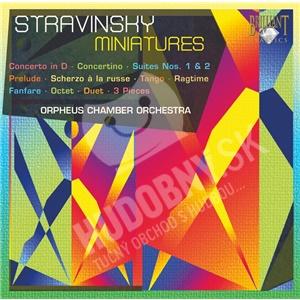 Orpheus Chamber Orchestra - Stravinsky - Miniatures od 16,70 €