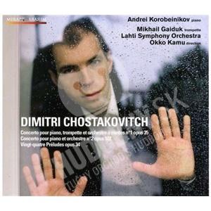 Andrei Korobeinikov, Lahti Symphony Orchestra, Okko Kamu - Shostakovich - Concerto pour piano Nos. 1 & 2 od 27,38 €