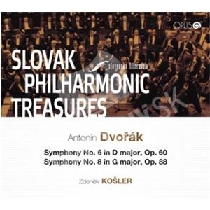 Slovenská filharmónia - Poklady Slovenskej filharmónie - Antonín Dvořák, Symphony No. 6, 8 od 9,01 €