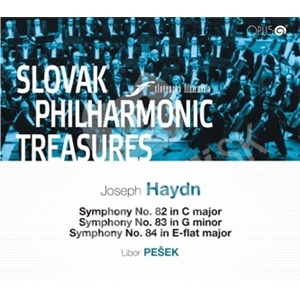 Slovenská filharmónia - Poklady Slovenskej filharmónie - Joseph Haydn, Symphony No. 82, 83, 84 od 9,01 €