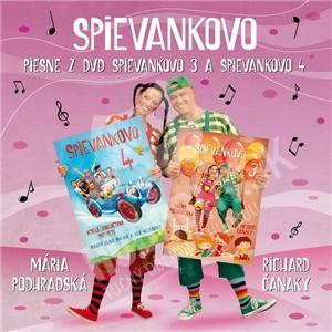Podhradská a Čanaky - Piesne z DVD Spievankovo 3 a 4 od 9,69 €