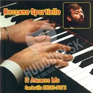 Rossano Sportiello - It Amazes Me od 20,94 €
