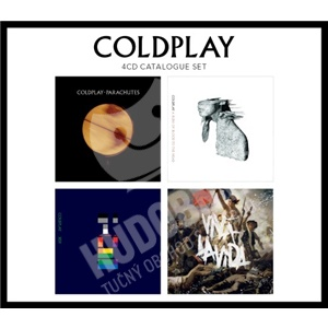 Coldplay - 4 CD Catalogue Set od 19,98 €
