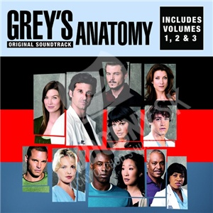 OST - Grey's Anatomy, Vol. 1, 2 & 3 (Original Soundtrack) od 19,38 €