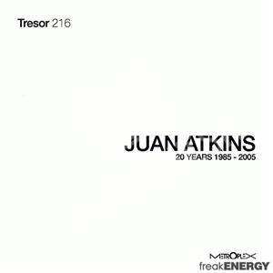 Juan Atkins - 20 Years 1985 - 2005 od 31,12 €