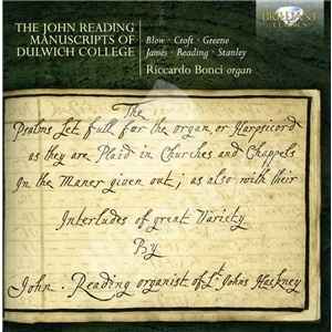 Riccardo Bonci - The John Reading Manuscripts of Dulwich College od 9,52 €