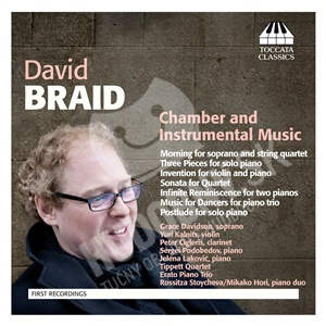 David Braid - Chamber and Instrumental Music od 21,15 €