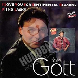 Karel Gott - Komplet 34 a 35 - I Love You For Sentimental Reasons & Písmo lásky od 10,41 €