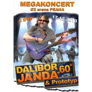 """Dalibor Janda - Dalibor Janda """"60"""" - Megakoncert DVD od 13,25 €"""