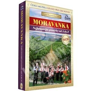 Moravanka - Nejkrásnejší písničky od A do Z (8CD) od 0 €