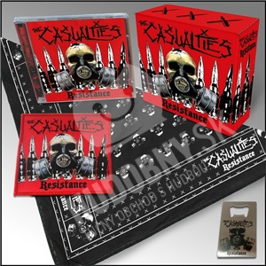 The Casualties - Resistance (Limited Edition Box) od 46,07 €