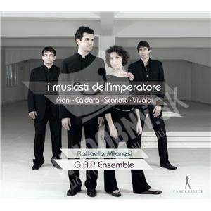 G.A.P. Ensemble, Raffaella Milanesi - I musicisti dell'imperatore od 27,28 €