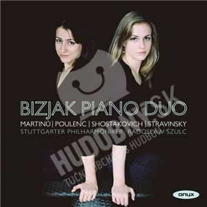 Bizjak Piano Duo, Radoslaw Szulc, Stuttgarter Philharmoniker - Bizjak Piano Duo od 22,20 €