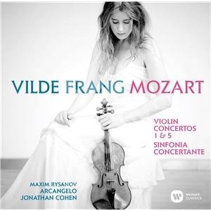 Vilde Frang - Mozart - Violin Concertos Nos. 1, 5 & Sinfonia concertante od 15,37 €