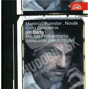 Jiří Bárta, Prague Philharmonia, Jakub Hrůša - Martinu, Foerster, Novák - Cello Concertos od 11,49 €