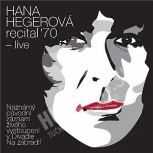 Hana Hegerová - Recital '70 - live od 11,49 €