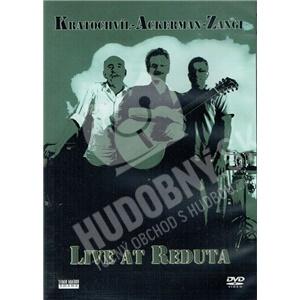Martin Kratochvíl, Tony Ackerman, Imran Musa Zangi - Live at Reduta od 10,49 €