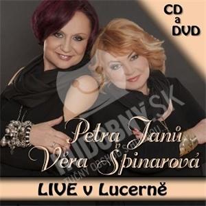 Věra Špinarová, Petra Janů - Live v Lucerně od 12,71 €