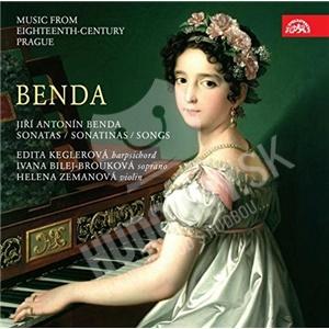 Edita Keglerova, Helena Zemanová, Ivana Bilej-Brouková - Benda - Sonatas Sonatinas Songs od 11,49 €