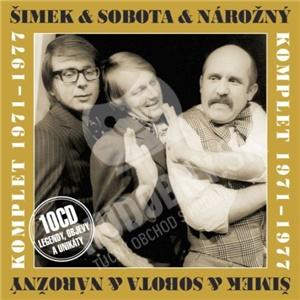 Miloslav Šimek, Petr Nárožný, Luděk Sobota - Komplet 1971-1977 od 37,22 €