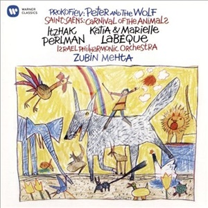 Itzhak Perlman, Zubin Mehta, Israel Philharmonic Orchestra, Katia Labeque, Marielle Labeque - Prokofiev - Peter and the Wolf, Saint-Saëns - Carnival of the Animals od 8,99 €