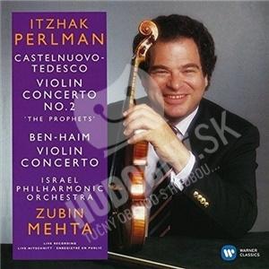 Itzhak Perlman, Israel Philharmonic Orchestra, Zubin Mehta - Castelnuovo-Tedesco-Ben-Haim - Violin Concertos od 7,59 €