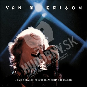 Van Morrison - It's too late to stop od 34,99 €