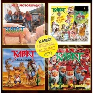 Kabát - Original albums Vol.1 (4CD) od 14,99 €