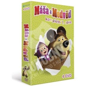 VAR - Máša a Medveď - kompletná 1. séria (4DVD) od 29,99 €
