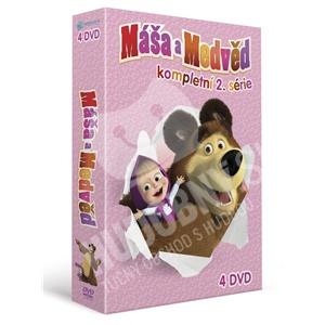 VAR - Máša a Medveď - kompletná 2. séria (4DVD) od 29,99 €