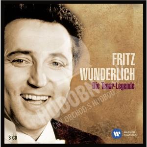 Fritz Wunderlich, Mozart, Händel, Massente, Lehar - Die Tenor-Legende (3CD) od 18,79 €