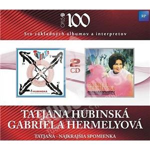 Hubinská Tatjana, Gabriela Hermelyová - Najkrajšia spomienka (2CD) od 7,19 €