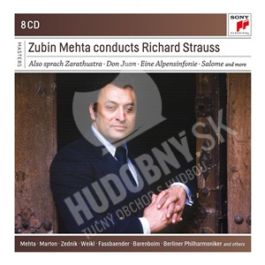 Zubin Mehta - Zubin Mehta Conducts Richard Strauss (8CD) od 25,59 €