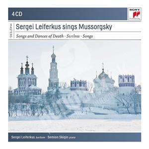 Sergei Leiferkus - Sergei Leiferkus Sings Modest Mussorgsky (4CD) od 14,69 €