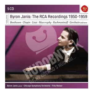 Byron Janis - The Rca Recordings 1950-1959 (5CD) od 17,48 €