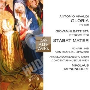 Nikolaus Harnoncourt, CMW, Marjana Lipovcek, Antonio Vivaldi,  Giov Pergolesi - Gloria/Stabat Mater od 9,39 €