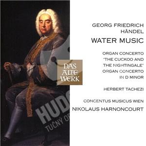 Nikolaus Harnoncourt, Herbert Tachezi, G.F. Handel - Water music, organ concertos Handel, G.F. od 9,29 €