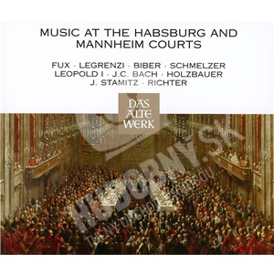 Nikolaus Harnoncourt, CMW, C.B. Bach, Stamitz, Schmelzer, - Music At The Habsburg And Mannheim Courts (4CD) od 15,89 €